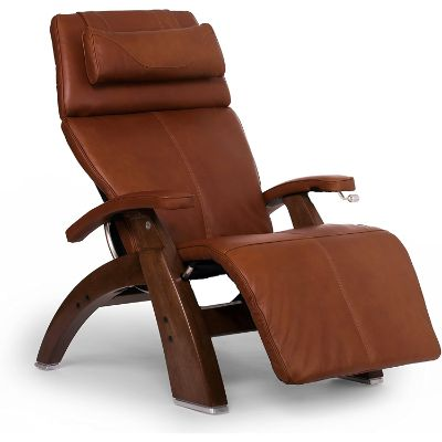 1. Human Touch Perfect Chair Full Grain Leather Manual Recliner (PC-420)