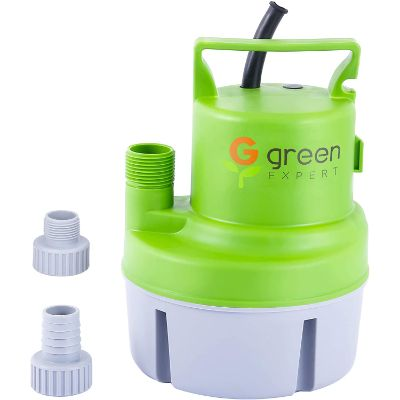 3. Green Expert 1/6 HP Portable Utility Pump (203617)