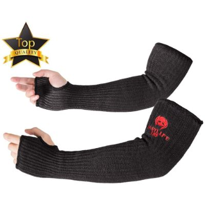 10. EasyLife185 Kevlar Arm Protection Sleeves
