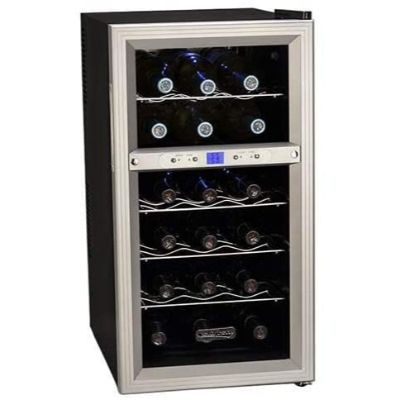 7. Koldfront Dual Zone 18 Bottle Wine Cooler, TWR181ES