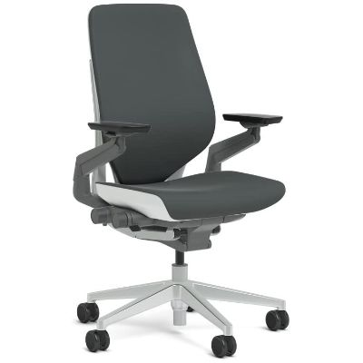 7. Steelcase Gesture Shell Back Task Chair – Standard Carpet Casters