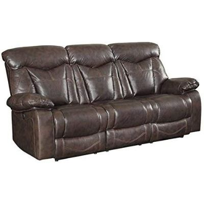 5. Coaster Home Furnishings Zimmerman Power Sofa with Pillow Arms