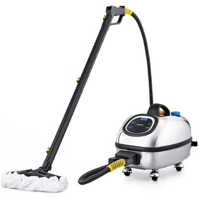 10. Dupray Commercial Steam Cleaner – Silver