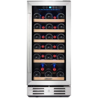 1. Kalamera Freestanding 15'' Wine Cooler