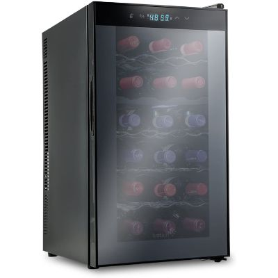 10. Ivation 18 Bottle Dual Zone Thermoelectric Wine Cooler