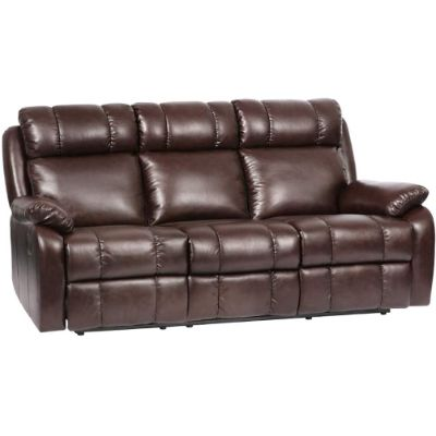 1. FDW PU Leather Recliner Sofa