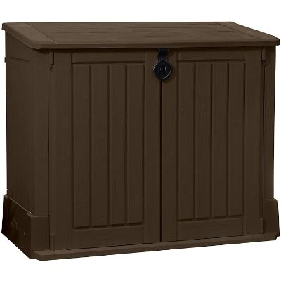 2. Keter Store-It-Out Woodland Resin Outdoor Storage Shed (4.25 x 2.4 Foot)