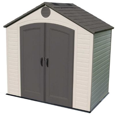5. Lifetime 8 by 5 Feet Outdoor Storage Shed (6418)